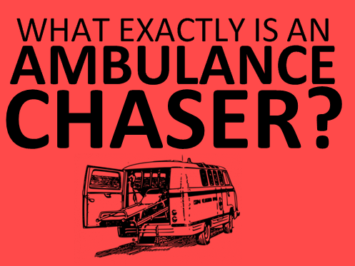 AMBULANCE CHASERS - Auto Accidents - Choudhry Franzoni Law Firm